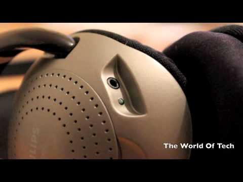 PHILIPS SHC2000 Wireless Headphones Review