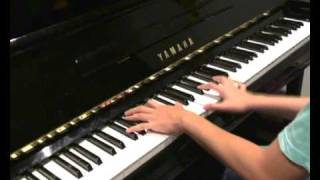 Oasis - Wonderwall (piano cover) OLD