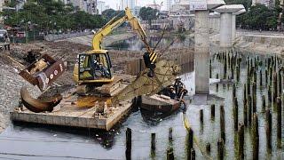 Phát hiện ki.nh h.oàng khi nạo vét sông Tô Lịch khiến dân Hà Nội xốc tột độ