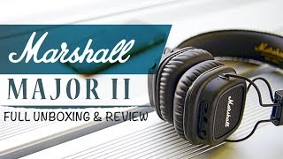 Marshall Major 2 - Awesome Bluetooth Headphones under $50 | Full Review and Unboxing