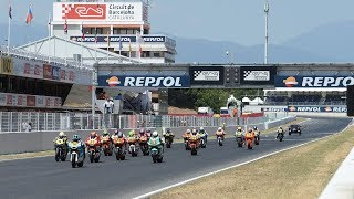LIVE Circuit de Barcelona Catalunya Fourth round FIM CEV Repsol