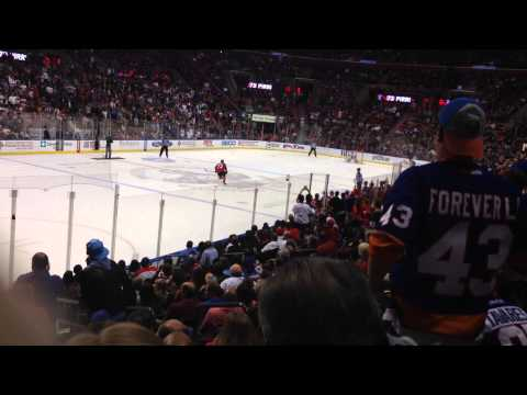 Florida Panthers VS. New York Islanders Shootout March 7, 2015 - Post-Huberdeau Goal
