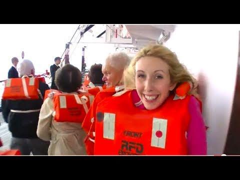 Tag2/1 Seenotrettungsübung - In 124 Tagen Um Die Welt (Weltreise Mit Kreuzfahrtschiff MS Astor)