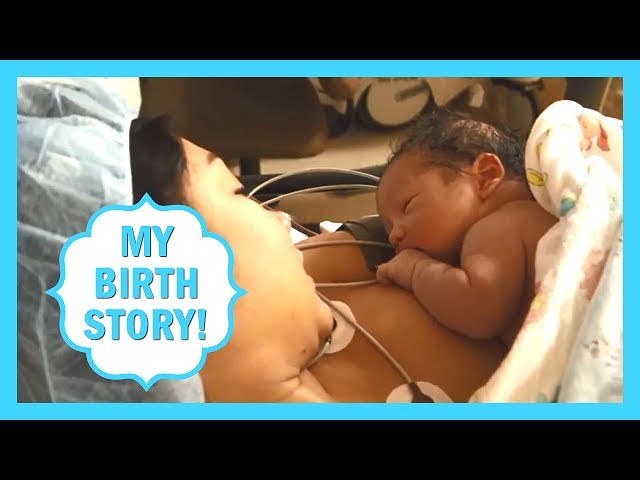 My Birth Story! Labor & Delivery Story! C-section, Cesarean Birth