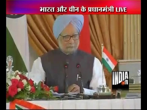 India-China talks: PM Manmohan Singh's full statement