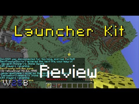 LAUNCHER KIT Review   MCPVP   Hunger Games