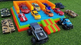 Building Car Parking Toys for Kids And Learn Construction Vehicles Names for Children