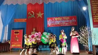tiết mục đạt giải nhất hội thi hát dân ca ví dặm giáo viên và học sinh cấp cụm