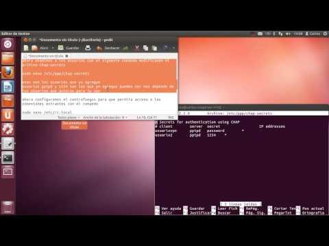 Configuracion de una vpn en ubuntu
