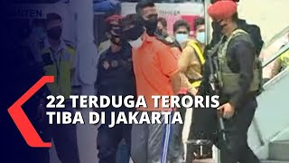 22 Terduga Teroris Kelompok Jemaah Islamiyah Asal Jawa Timur Dibawa ke Rutan Cikeas