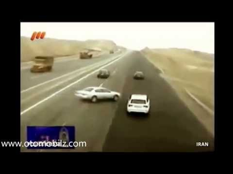Kaza Videoları Araç ön kamera Görüntüleri