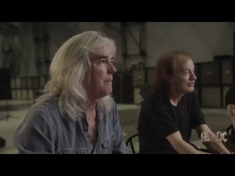 Axl Rose, Angus Young and Cliff Williams on Brian Johnson 2016