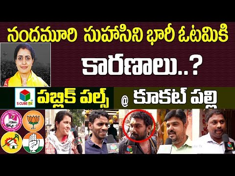Telangana Election Results 2018 | Public Pulse@Kukatpally | Nandamuri Suhasini Vs Madhavaram |