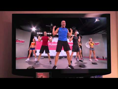 Les Mills PUMP infomercial  I lost my belly fat Coach Joy Poulsen