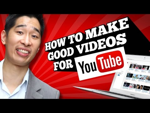 How To Make Good Youtube Videos video