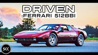 FERRARI 512 BBi 1983 - Full test drive in top gear - Flat 12 Engine sound | SCC TV