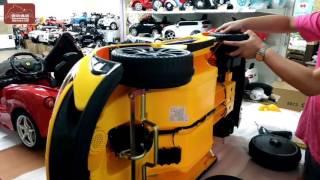 xe ô tô điện trẻ em xecuabe.com Hướng Dẫn Lắp Ráp Xe Điện Mclaren Cho Trẻ Em