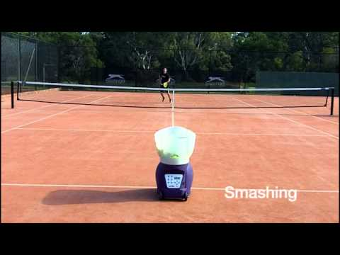 Spinfire Pro 2 Tennis Ball Machine - On Court