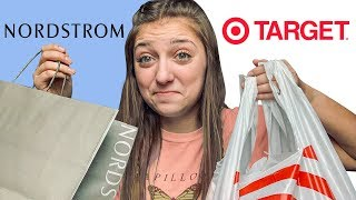$100 Challenge: TARGET vs. NORDSTROM