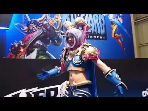 ИгроМир 2017: Конкурс косплея Blizzard