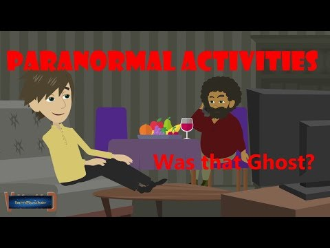 Paranormal Activities in my house - Scary Story (Animated in Hindi) |IamRocker|