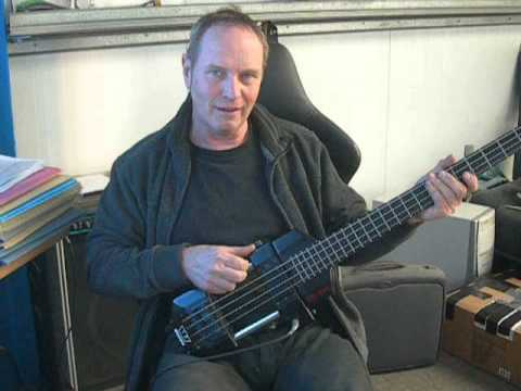 The Westone Rail bass guitar
