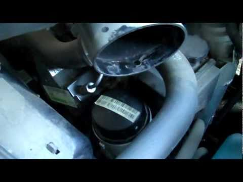Mb sprinter van 2010 2014 how to change an oil filter on a for How much is oil change for mercedes benz