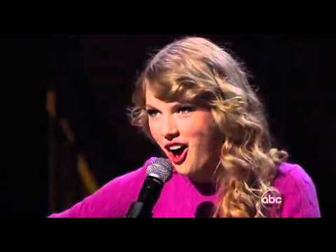 Taylor Swift - HD - Ours - CMA Awards 2011 Music Videos