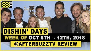 Days Of Our Lives for October 8th - October 12th, 2018 Review & After Show