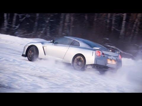Тест-драйв Nissan GT-R, часть 1