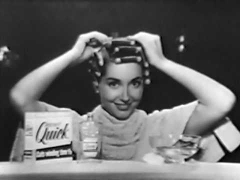 How 1950s women weatherproofed their hair youtube for 1950 s beauty salon