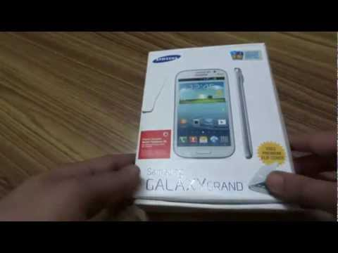 Samsung Galaxy Grand Duos Unboxing