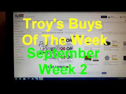 Troy's Buys Of The Week: September Week 2