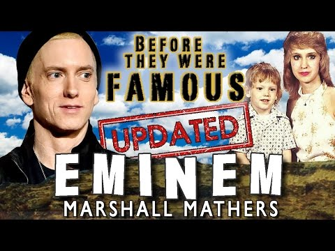 EMINEM - Before They Were Famous UPDATED