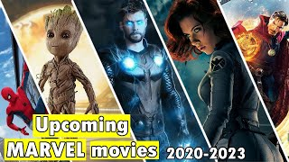 Upcoming marvel movies | Marvel phase 4 movies 2020 - 2023