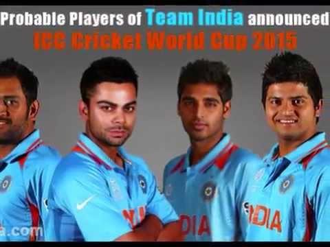 ICC Cricket World Cup 2015 Teams & Squads