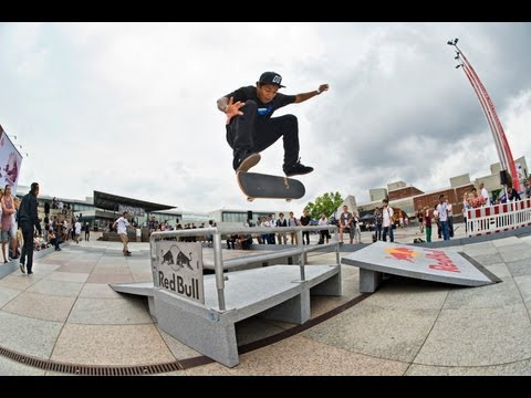 Sloped Best Line Skate Contest - Red Bull Bomb the Line 2012 Germany