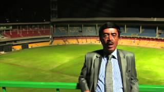 400 kW rooftop solar power plant at Chinnaswamy Stadium, Bangalore