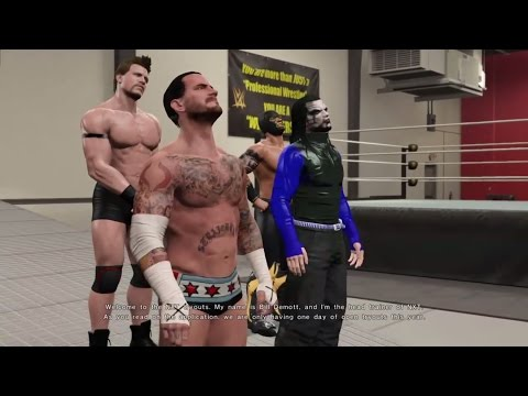 Wwe 2k15 Jeff Hardy Shows Up In My Career Mode Career Invasion!!! (vs Cm Punk) video