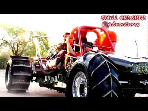 HEAD HUNTER RACING'S 2,000HP Blown HEMI POWERED Rail Mud Dragster