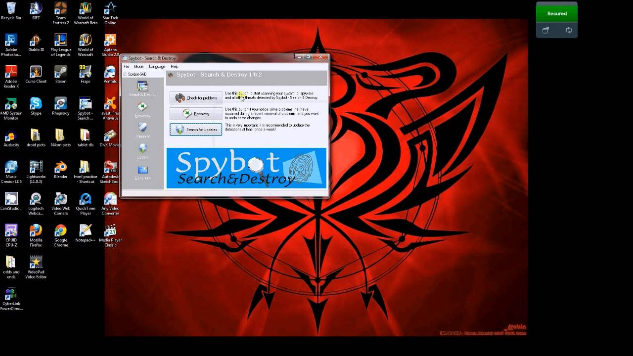 how to download spybot free