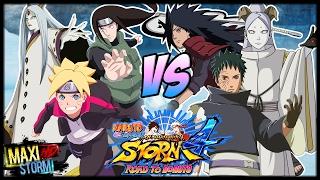 Boruto Neji & Kaguya vs Momoshiki Madara & Obito || Naruto Storm 4 RTB Duelo || Pedido Neji Rojas