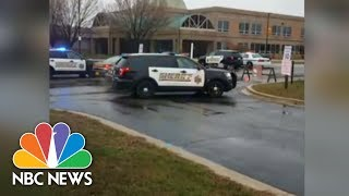 Police On Scene At School Shooting In Great Mills, Maryland   NBC News