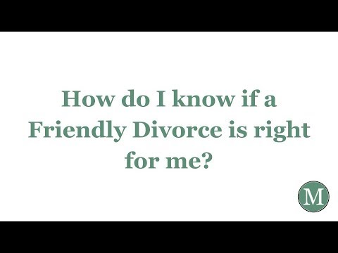 How do you know divorce is right