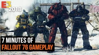 7 Minutes of Fallout 76 Gameplay - E3 2018