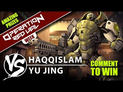 Infinity Red Veil Battle Report: Haqqislam VS Yu Jing 180pts