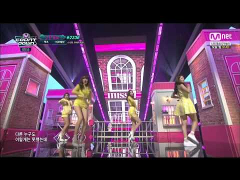 150409 miss A - Only You @ Mnet M! Countdown