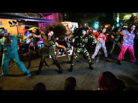 Zombie Dance Squad - Corpus Christi ArtWalk 2014