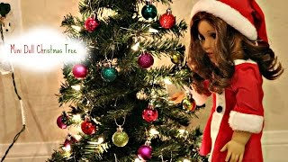Mini Christmas Tree For the Dolls