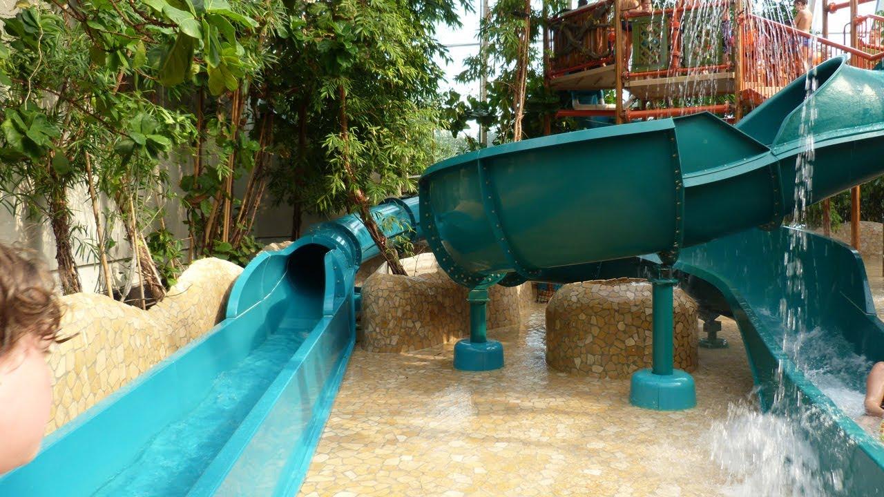 Center Parcs Les Trois For 234 Ts Water Play House Arbre 224